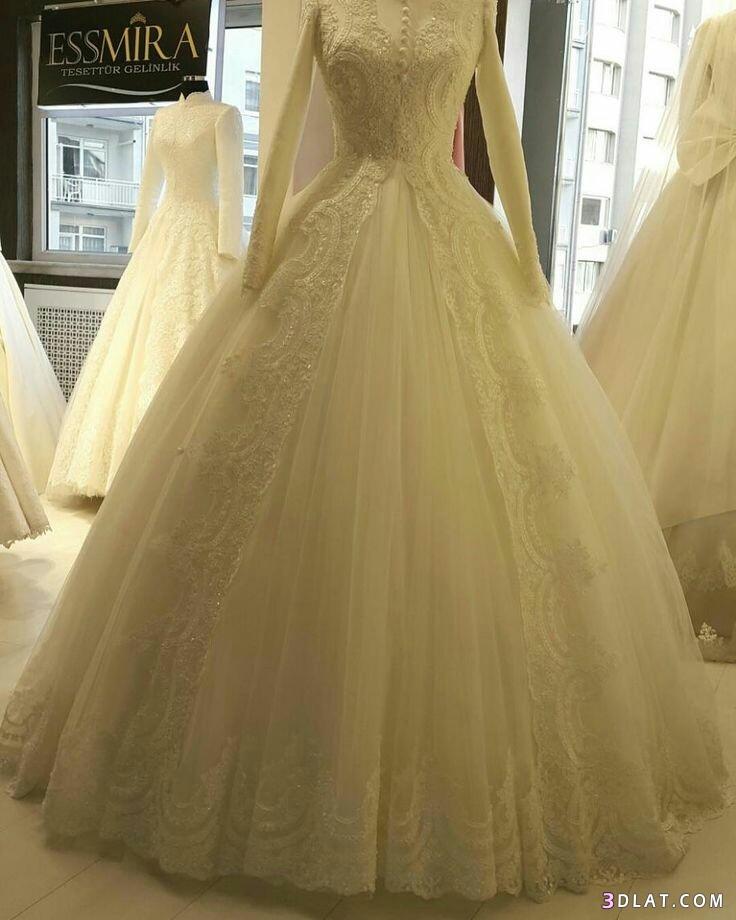 فساتين زفاف المحجبات2019.اجددتشكيلة فساتين الزفاف للمحجبات.فساتين do.php?img=1129267