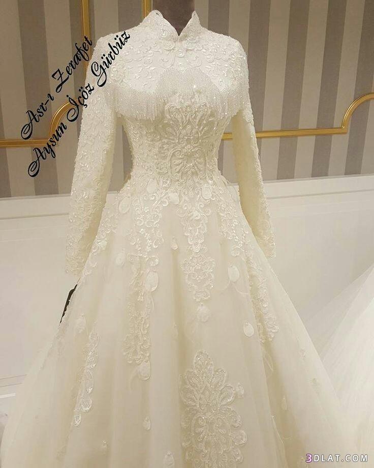 فساتين زفاف المحجبات2019.اجددتشكيلة فساتين الزفاف للمحجبات.فساتين do.php?img=1129268