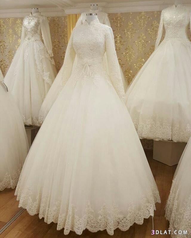 فساتين زفاف المحجبات2019.اجددتشكيلة فساتين الزفاف للمحجبات.فساتين do.php?img=1129270