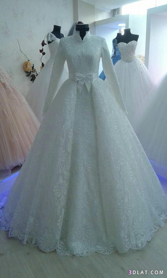 فساتين زفاف المحجبات2019.اجددتشكيلة فساتين الزفاف للمحجبات.فساتين do.php?img=1129272