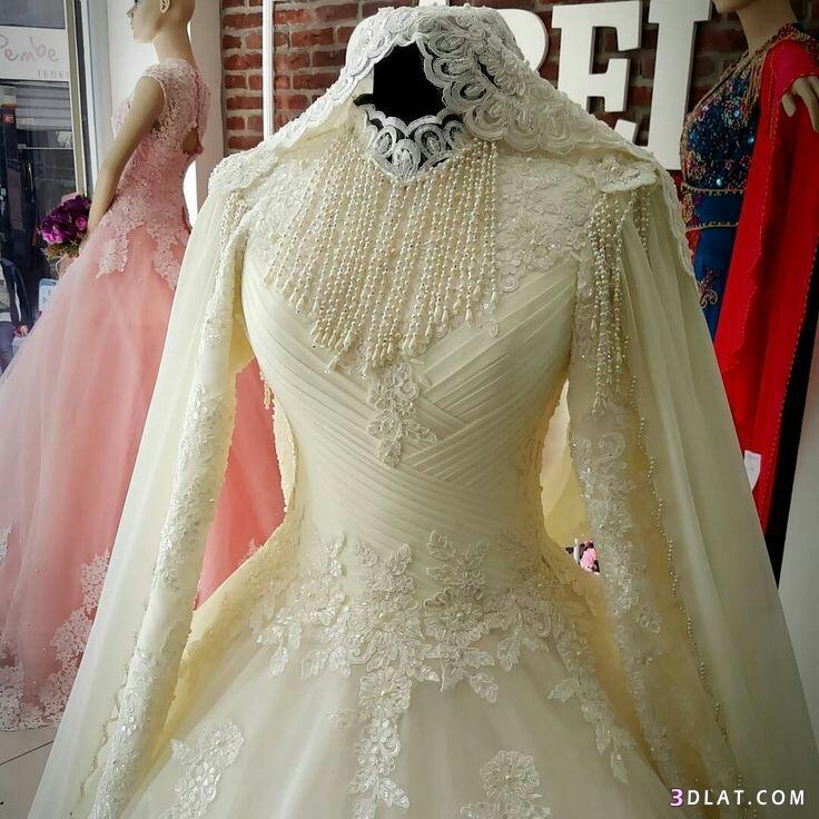 فساتين زفاف المحجبات2019.اجددتشكيلة فساتين الزفاف للمحجبات.فساتين do.php?img=1129275