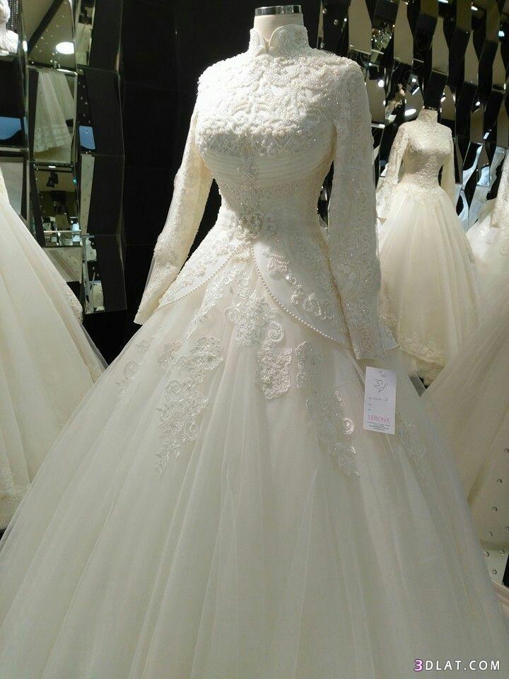 فساتين زفاف المحجبات2019.اجددتشكيلة فساتين الزفاف للمحجبات.فساتين do.php?img=1129277