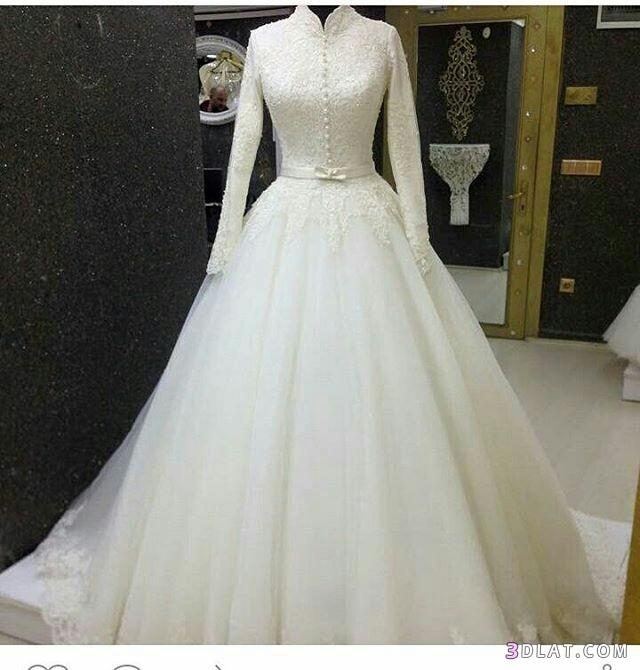 فساتين زفاف المحجبات2019.اجددتشكيلة فساتين الزفاف للمحجبات.فساتين do.php?img=1129278