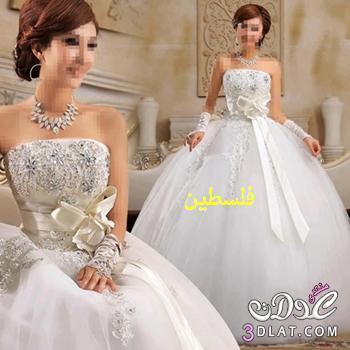 فساتين زفاف مميزه فساتين زفاف روعة لكى تتالقى بها فى فرحك
