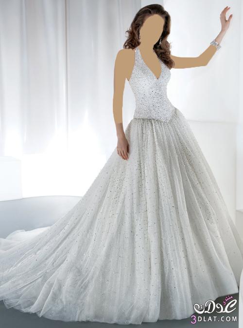 فستان زفاف رقيق و مميز