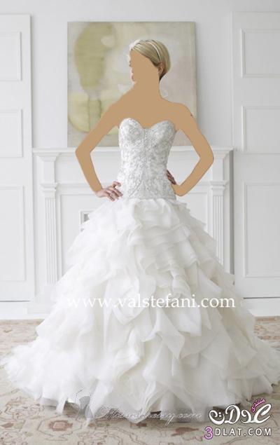 فستان زفاف لاحلي البنات