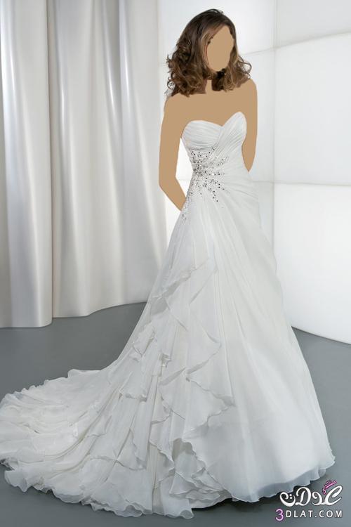 فستان فرحتي مفيش اجمل منه