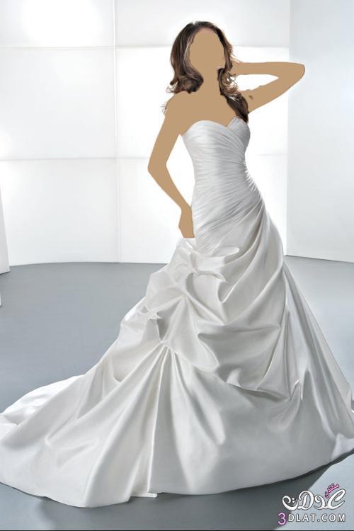 طلي باجمل فستان في زفافك يا قمر الزمان
