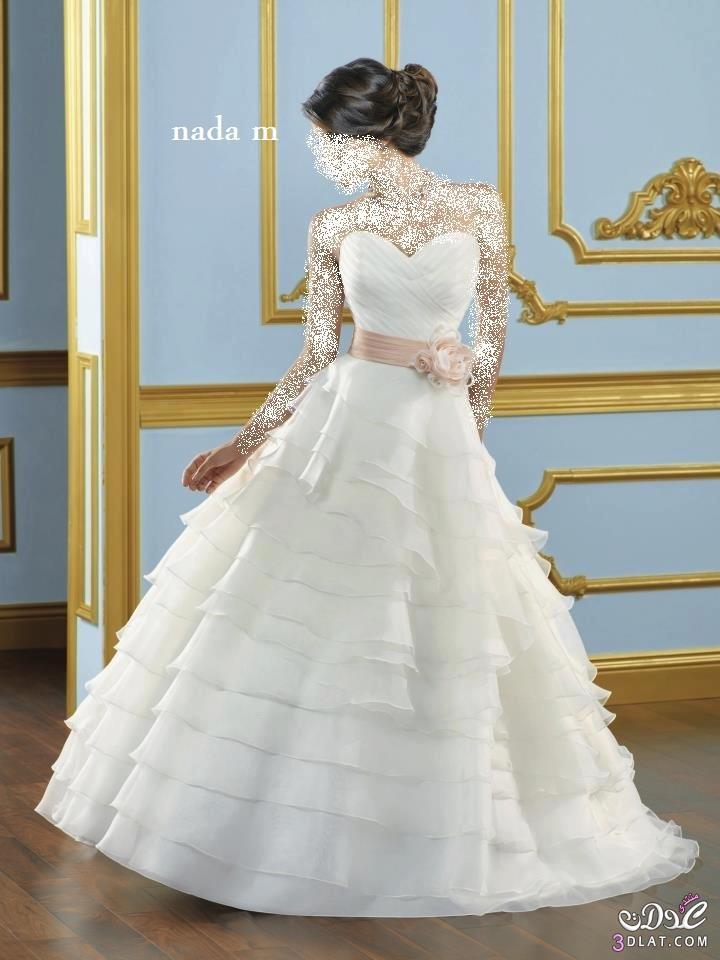 صور فساتين زفاف اخر شياكة فساتين افراح جديدة و مميزة فساتين زفاف انيقة