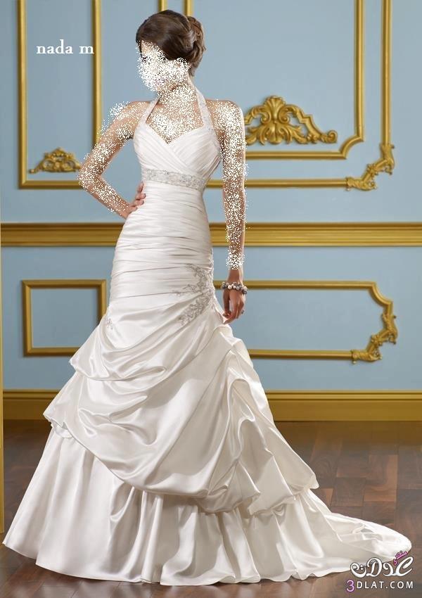 فساتين افراح فساتين زفاف رقيقة و ناعمة ازياء اعراس روعة