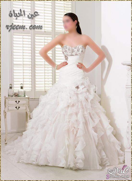 فساتين افراح جديدة ومميزة 2021 - فساتين زفاف للعروس 2021 -فساتين روعة