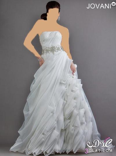 فستان زفاف من تصميم جيوفاني