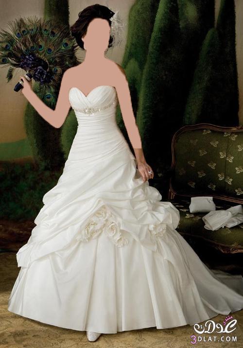 فساتين زفاف رقيقة و مش عادية