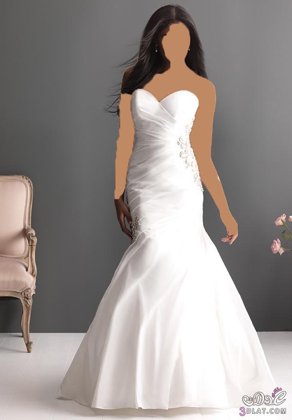 فستان زفاف رائع و علي قد الميزانية