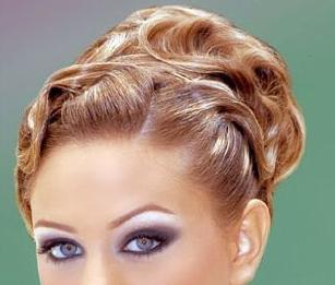 تسريحات شعر جديده تسريحات عرايس