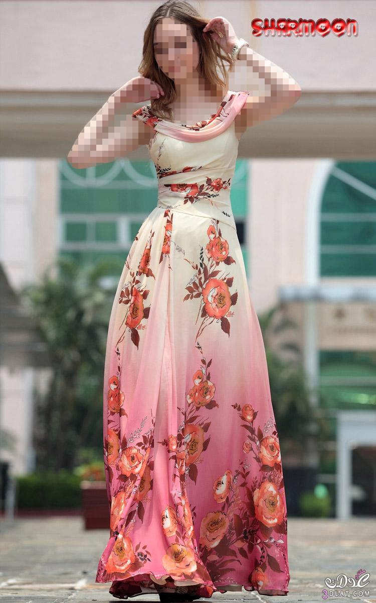 8bef61fdb4c7f فساتين طويلة للبنات روعة .. اجمل الفساتين الصيفية ..فساتين صيفية ...