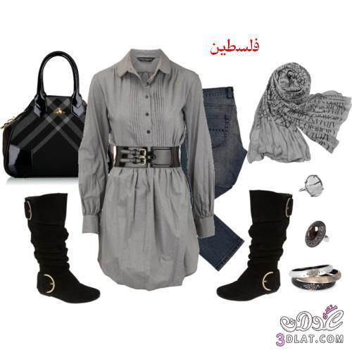 3d201128f اطقم للبنات كاملة اجمل اطقم للبنات اطقم محجبات جميلة - فلسطين