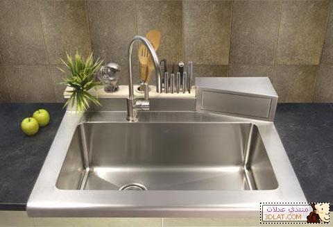 تنظيف حوض المطبخ في خطوات بسيطة