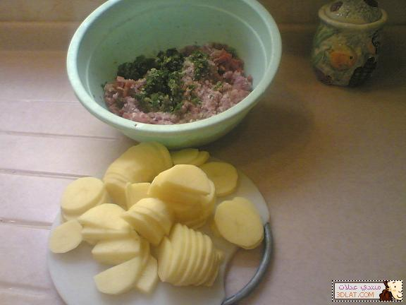 طرقة جديدة لصينية البطاطس من عند عدلات صينية بطاطس نيو ستايل 12903370232