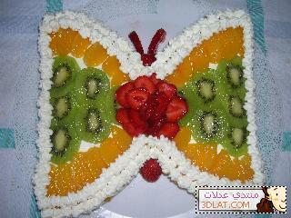 بالصور طريقة عمل كيكة الفراشه