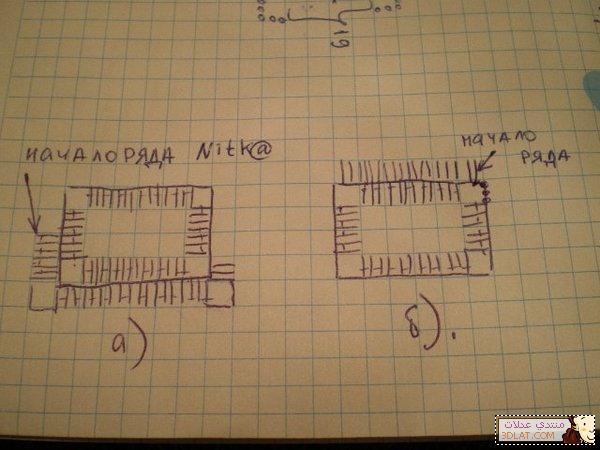 مفرش كروشيه مربع الخطوات والباترون 12928045774.jpg