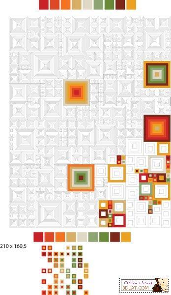 مفرش كروشيه مربع الخطوات والباترون 129280500515.jpg