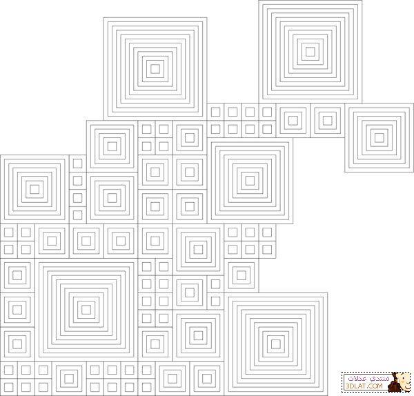مفرش كروشيه مربع الخطوات والباترون 12928050059.jpg