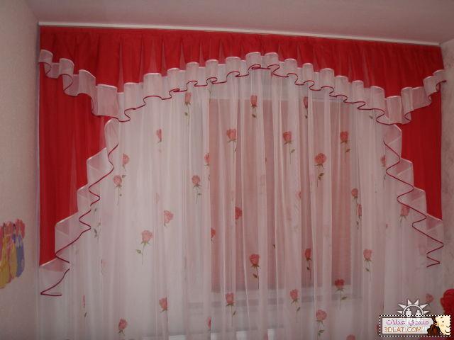 اجمل ستائر لغرف النوم 2012 -ستائر رائعة لغرف النوم  129315125810