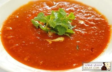 طريقة عمل شوربة الطماطم 12933213921