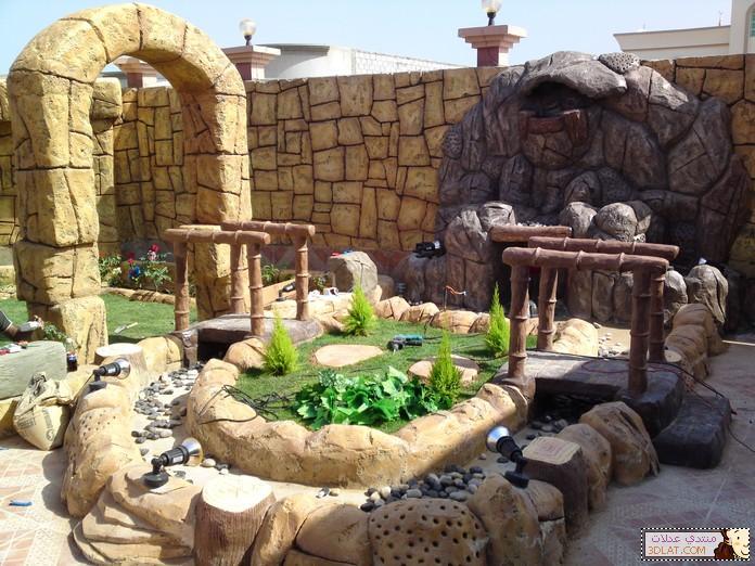 تصميمات وافكار الحدائق الصغيرة ديكورات الحدائق 12946138572.jpg