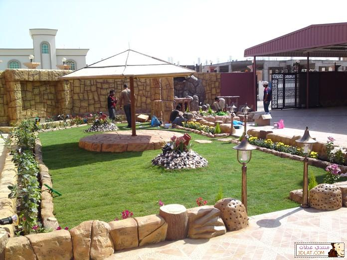 تصميمات وافكار الحدائق الصغيرة ديكورات الحدائق 12946138573.jpg
