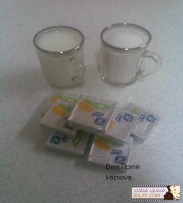 الحليب   المحموس بالكريمة ، حلى قهوه سهل وسريع بالصور