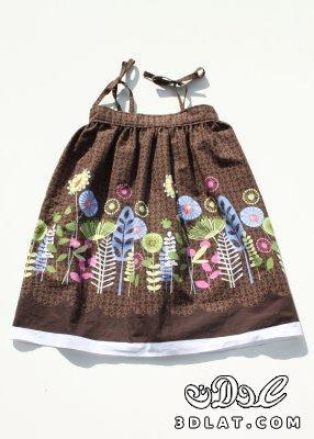 e61daf7f7 خياطة وتفصيل فستان طفلة خطوة خطوة بالصور - كتكوتة