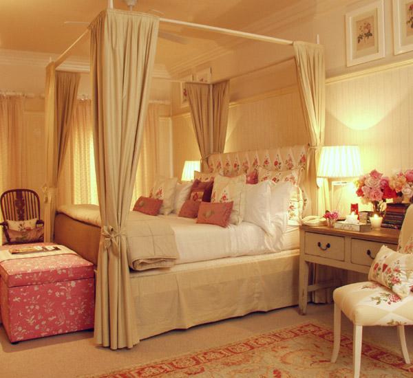 ديكورات غرف نوم رومانسية للعرسان 2015