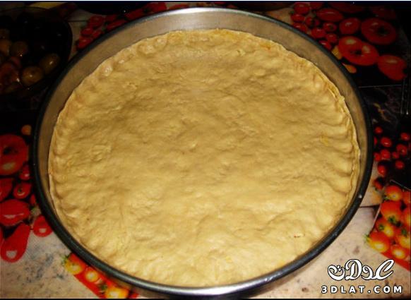 طريقة عمل البيتزا سهلة جداا عندنا وبس  12994818443