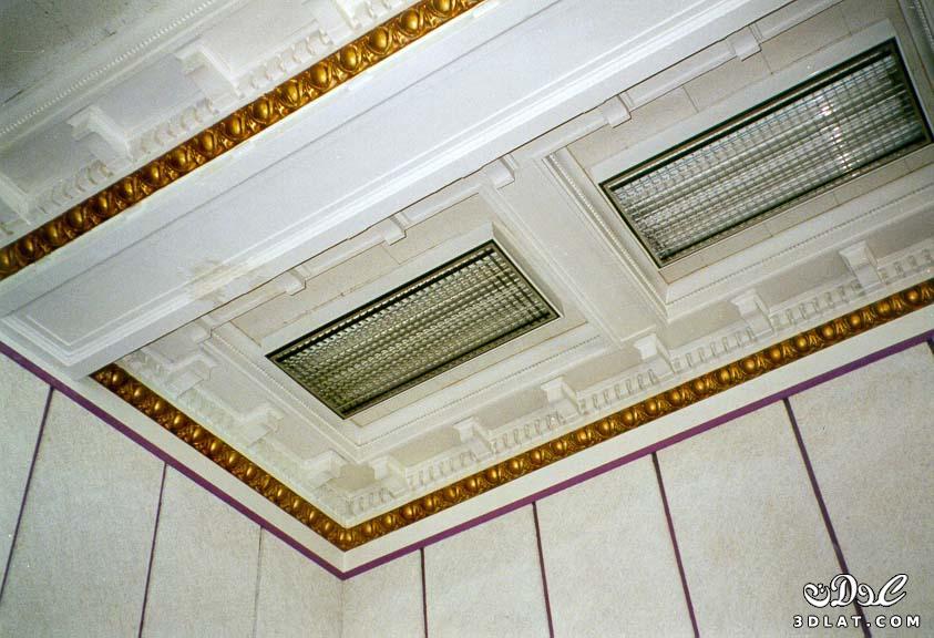 صور اجمل الديكورات الجبسية للاسقف