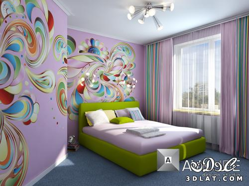 غرف نوم اطفال 2015 kids rooms