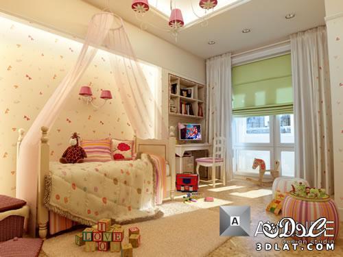 13014788238 غرف اطفال مودرن ديكورات   حوائط   دهانات بالصور