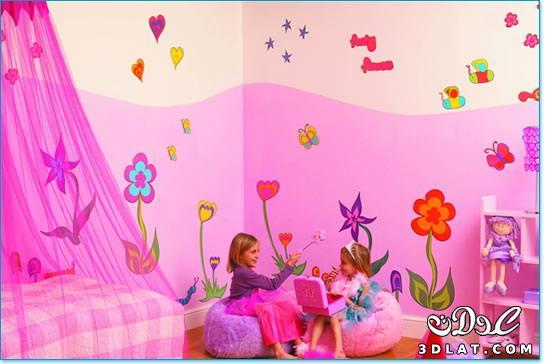 3ed69ba06bac0 احدث دهانات غرف الاطفال لعام 2020 - اسيرة 67