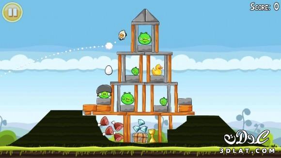 لعبة الطيور الغاضبة Angry Birds Online