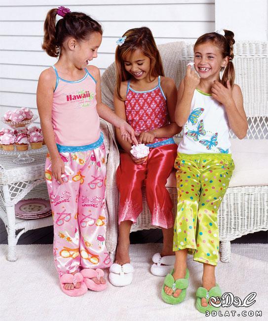 ffed8415b بيجامات اطفال بنات - ملك قلبى