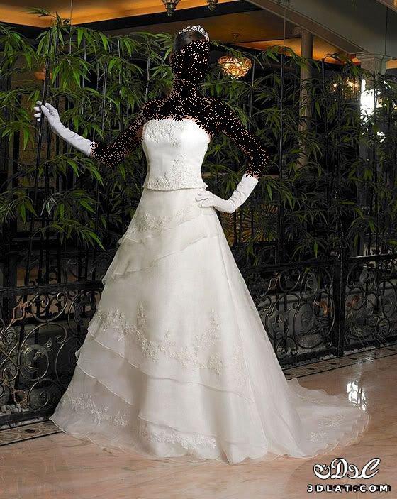 فساتين زفاف 2021 رقيقه وناعمه جدا