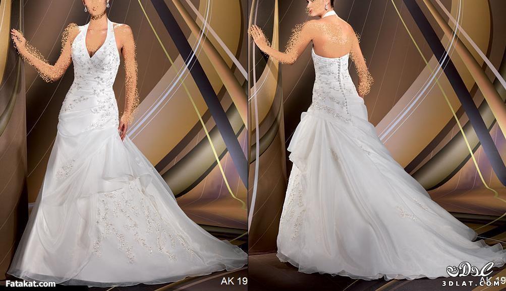 اجمل فساتين الزفاف لارق عروس 2014
