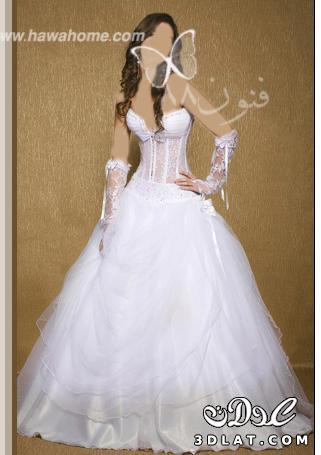 اجامدة فساتين للزفاف