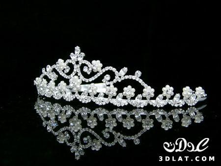 اجمل تيجان وأطواق للعروس 2014