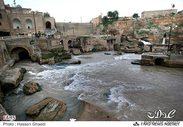 مدينة ايرانية تجري تحتها الأنهار