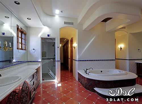صور سيراميك حمامات بالوان حديثة 2017-2016 سيراميك حوائط وارضيات للحمام