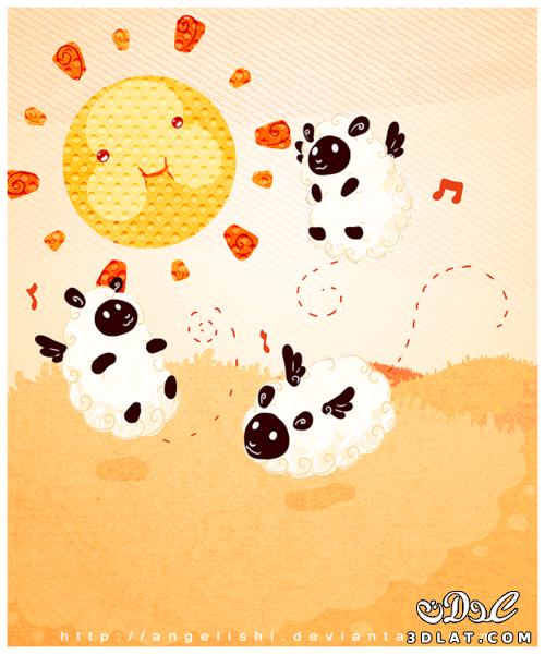 خرفان بمناسبة الاضحى Sheep خروف العيد 13190364291.png