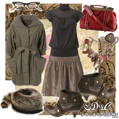 ازياء الشتاء 2017 , جديد ملابس واكسسوارات الشتاء 2017