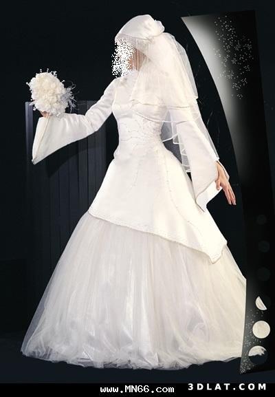 تعالي اتفرجي علي احلي فساتين الزفاف  ♥